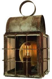handmade outdoor lighting. back bay wall sconce copper lantern handmade outdoor lighting