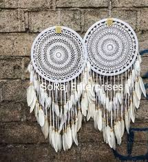 feather wall hanging dream catcher