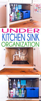 Under Kitchen Sink Organizing 17 Best Ideas About Under Kitchen Sinks On Pinterest Under