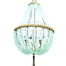 world market beaded chandelier