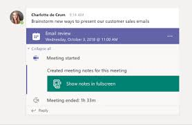 Microsoft Office Meeting Take Meeting Notes In Teams Office Support