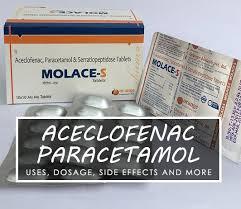 Aceclofenac Paracetamol Tablet Uses Dosage Side Effects