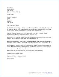 sample letter templates resume samples letter  complaint letter sample complaint letters must know tips easy steps sample phrases and sentences