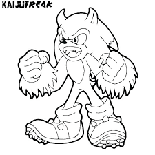 Sonic Coloring Pages Sonic Coloring Sheets Free Printable Sonic X