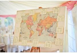 Map Seating Chart Wedding World Map Seating Chart Uk Wedding Styling Decor Blog