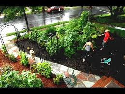 Small Picture 43 Front Yard Vegetable Garden Design Ideas YouTube