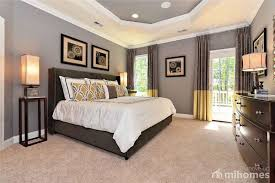 Contemporary Master Bedroom with French doors, Carpet, Ciriaco 31