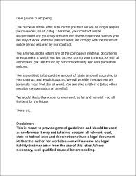 Free 31 Contract Termination Letter Word