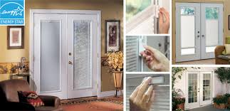 ODL Enclosed Blinds Addon Blinds Built In Patio Door BlindsHome Windows With Built In Blinds