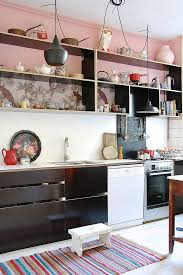kitchen black and pink inside the cool scandinavian style kitchen 20 contemporary scandinavian kitchens that will