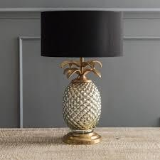 pineapple table lamp base uk