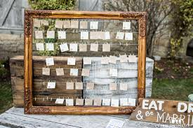 Picture Frame Seating Chart Seating Chart Options Rickety Swank Vintage Rentals Farm
