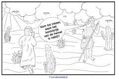 Kleurplaten Nieuwe Testament Johannes De Doper Clipart Geloven