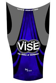 Vise Blue Dye Sublimated Compression Sleeve