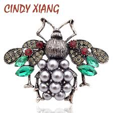 <b>CINDY XIANG New Arrival</b> 3 Colors Choose Pearl and Rhinestone ...