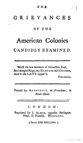 best images about stamp act library of congress the grievances of the american colonies candidly examined by stephen hopkins 1766