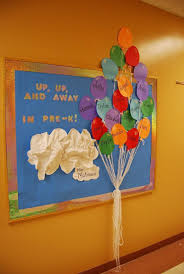Preschool Welcome Board With The Childrens Names