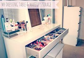 dressing table drawers