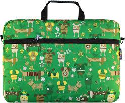 """<b>VIVACASE Сумка</b> для ноутбука Doggy <b>15.6</b>"""", оксфорд, зеленый ..."""