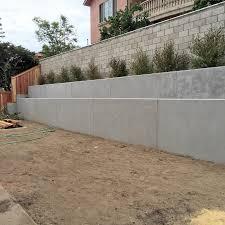 concrete retaining wall huntington beach