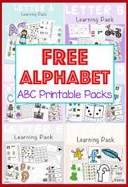 free printable alphabet. Simple Printable Free Alphabet ABC Printable Packs Throughout