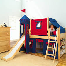 car beds with slides.  With Shown With BuiltIn Bookcase Intended Car Beds With Slides