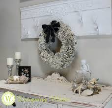 Pages from an old encyclopedia become a beautiful wreath that can easily  span seasons and decorating