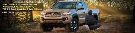 Toyota Tacoma Custom Seat Covers | Toyota Pickup Truck Seat Covers