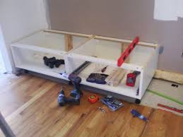Ikea Akurum Kitchen Cabinets How To Extend Tall Akurum Cabinet Base Unit For Floor To Ceiling