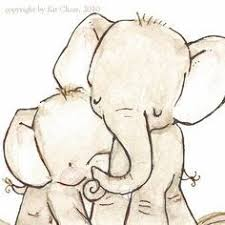 Baby Elephant Drawings Mommy And Baby Elephant Drawing Google Search Tattoo Ideas
