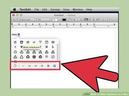 3 Ways To Make Symbols On A Mac Wikihow