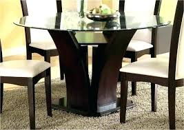 black glass dining table chairs small and room sets contemporary round kitchen glamorous