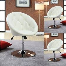 bedroom swivel chair. Brilliant Chair White Vanity Stool Swivel Chair Seat Bedroom Furniture Living Room  Adjustable Chairs For Upholstered And Bedroom Swivel Chair E