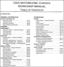 2003 ford f 53 motorhome chassis repair shop manual and wiring find out what is covered by clicking here to see page 2 of the table of contents covers all 2003 ford f 53 motorhome models this book is in new condition