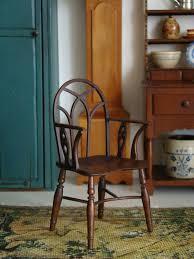 miniature dollhouse furniture. vintage artisan signed miniature doll house chair mark murphy 1988 dollhouse furniture