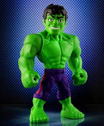 All hulk colors in lego videogames. Marvel Super Hero Adventures Mega Hulk Figure Height 25 5 Cm Online India Buy Figures Playsets For 3 7 Years At Firstcry Com 2758724