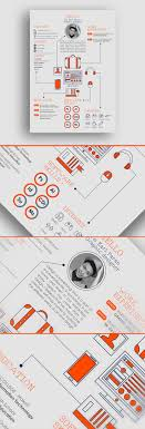 460 Best Creative Resume Design Images On Pinterest Resume Cv