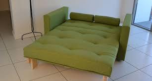 futon : Amazing Double Futon Sofa Bed HIMMENE Sleeper Sofa ...