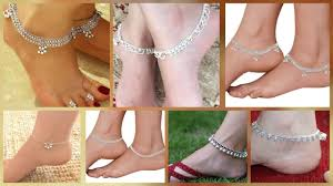 Anklet Design With Price Simple Payal Designs For Girls Daily Wear Silver Payal