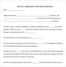 Lease Agreement Template Word - Sarahepps.com -