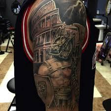 Eikon Device On Twitter Gladiator Tattoo Done By Drew Buchanan