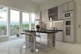 interior design kitchen. Kitchen Set \u0026 Meja Island Interior Design