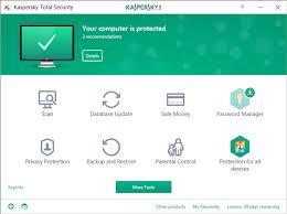 Kaspersky Total Security 2019 V19 0 0 1088 Build 14445 Software