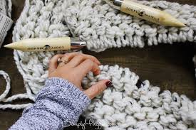 Chunky Knit Blanket Pattern Mesmerizing Lush Knit Blanket By Simply Maggie SimplyMaggie