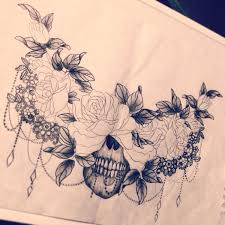 Back Tat Cover Up With A Crown On The Skull Tattoo Inspiration
