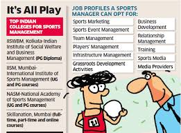 Career In Sports Management Kicks Off In India The