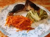 caribbean orange spiced carrots