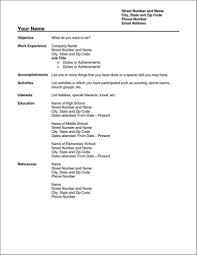 Resumes And Cover Letters Office 783416322112 Simple Resume
