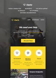 Charity E Newsletter Template Buy Premium Charity E Newsletter Template