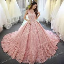 vinca sunny 2017 sleeveless pink wedding dresses lace applique